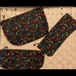 Handbags - 3 piece bag set